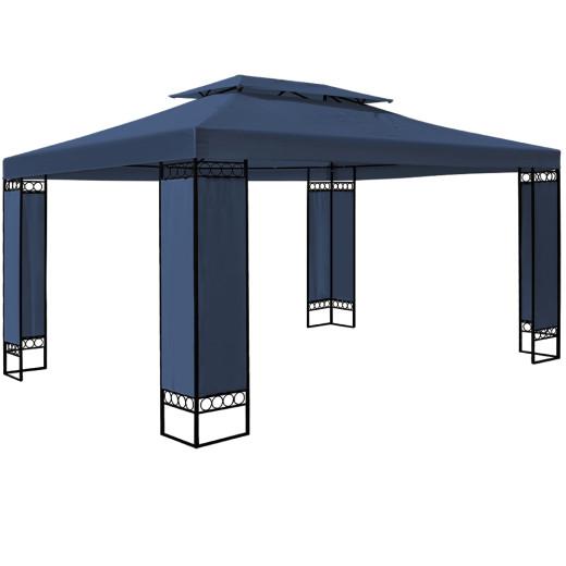 Pavillon Elda in Blau XXL 3x4m