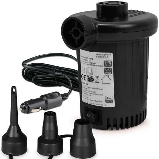 Electric Air Pump 12 V, 580l/min, 90W 3 Adapters