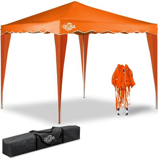 Pop Up Gazebo Capri Orange 3x3m