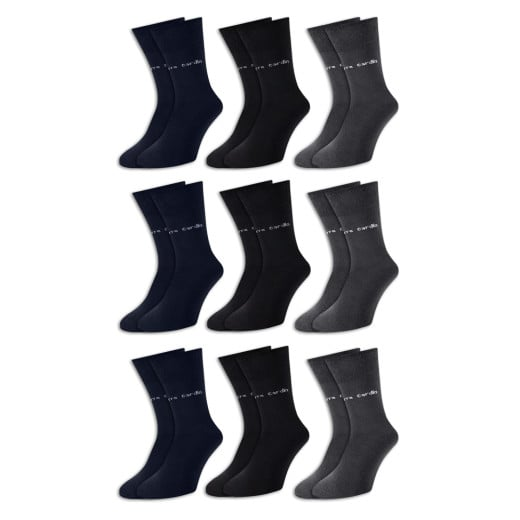 Pierre Cardin Socken 9er-Pack Farbmix Gr. 39-42