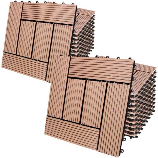 WPC Decking Tiles Waterproof Flooring