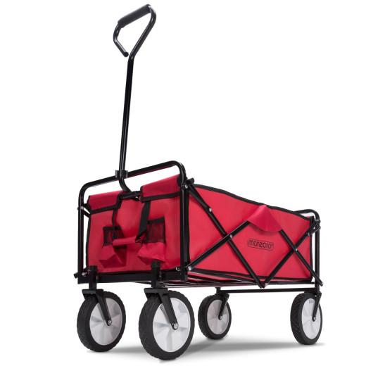 Bollerwagen Rot faltbar