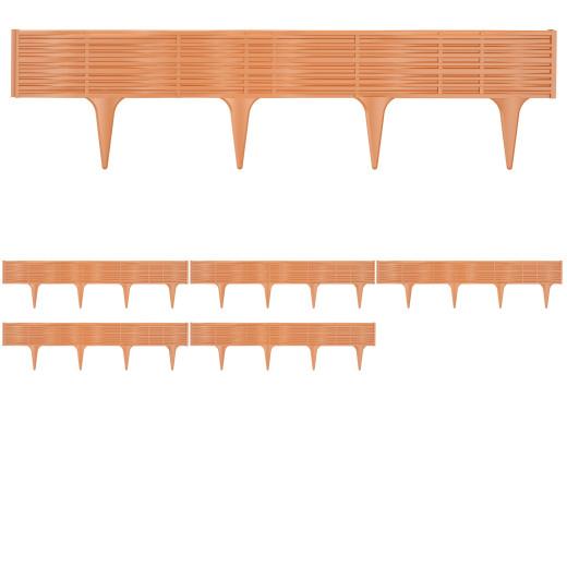 Lawn Edge Bed Frame Set 11.7m Terracotta