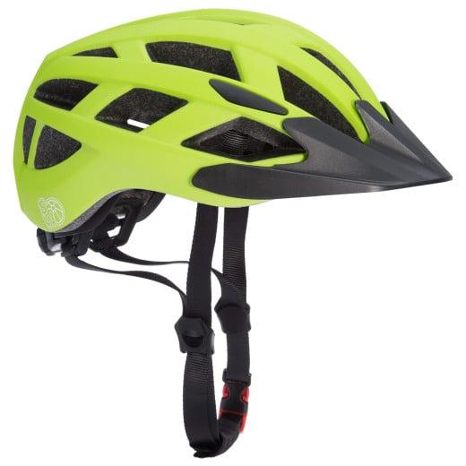 Kids Cycling Helmet Green-Black S