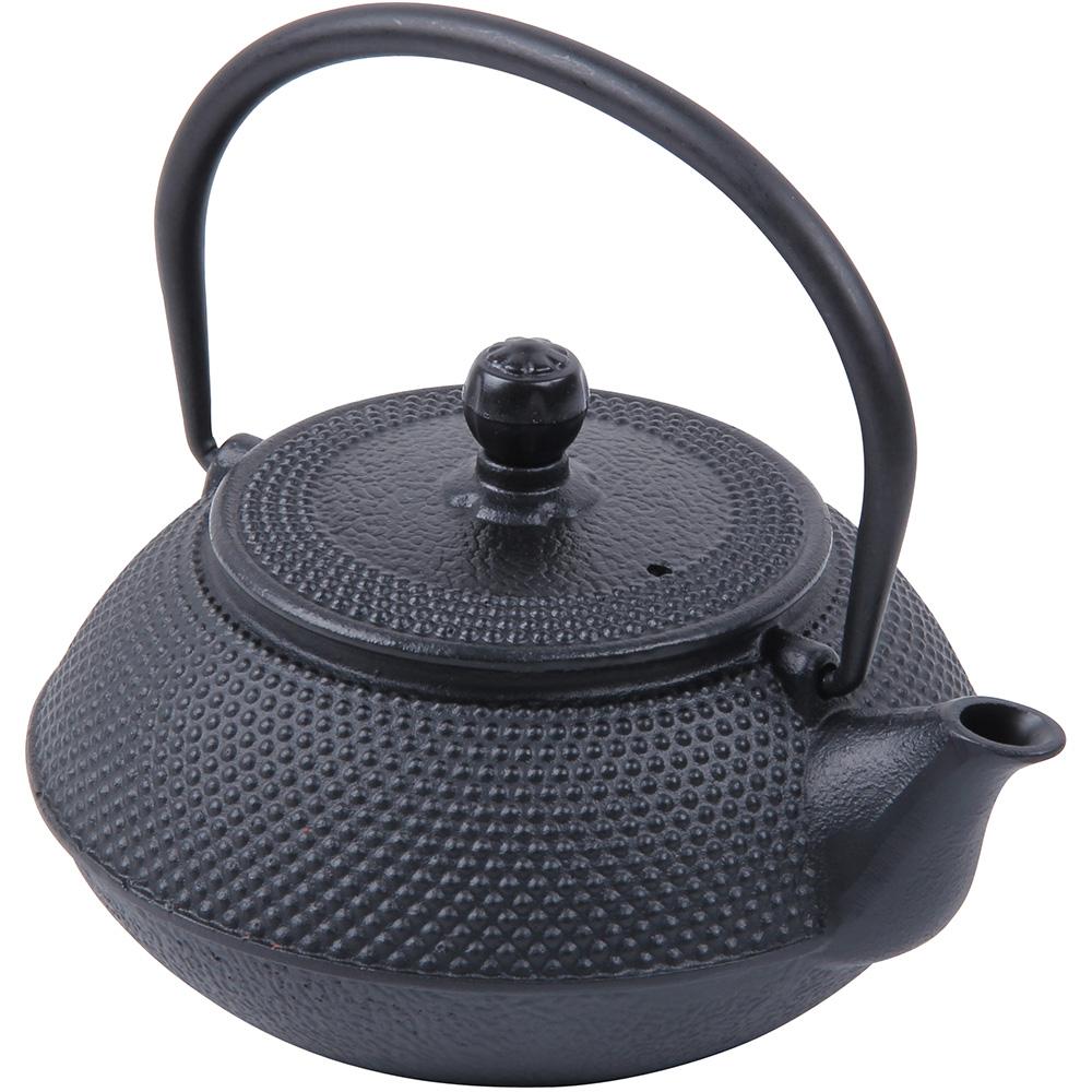 Teapot Cast Iron Black 0.75L
