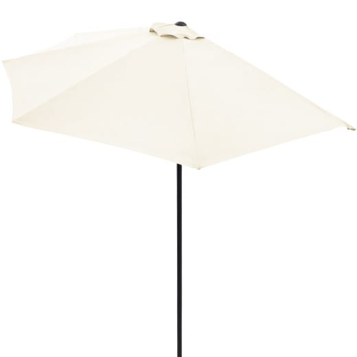 Half Parasol Cream 3m UV Protection 50+