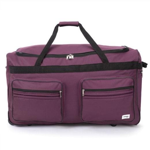 Large 160L Violet Duffel Bag