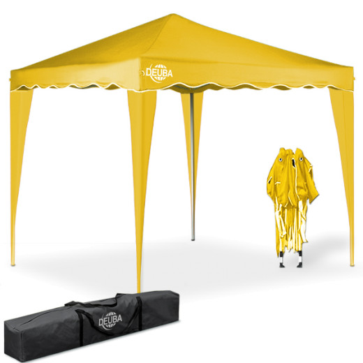 Pop Up Gazebo Capri Yellow 3x3m
