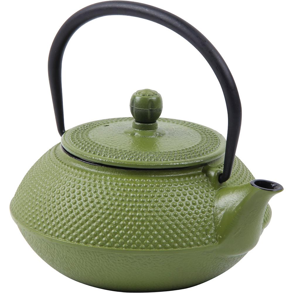 Teapot Cast Iron 0.75L Green