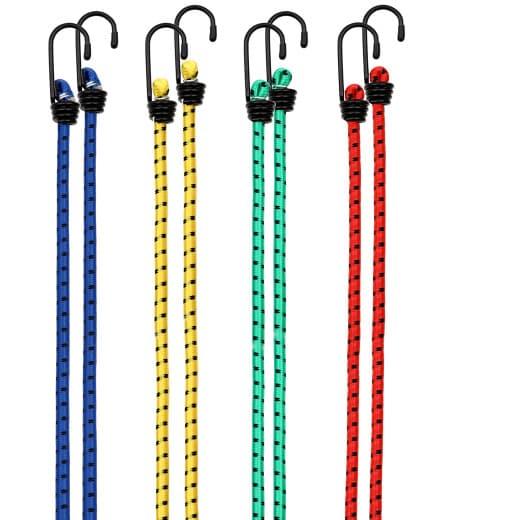 Spanngummi 8er-Set 40-100cm