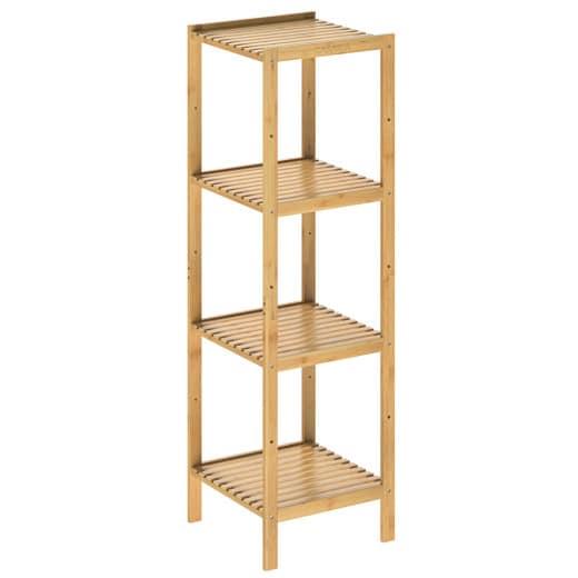 Standregal aus Bambus 110x33x33cm