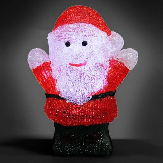 LED Christmas Figure Acryl Santa Claus