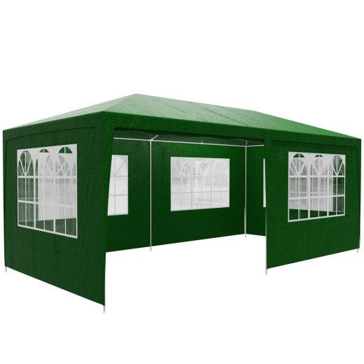 Gazebo Rimini Green 3x6m incl. Side Panels
