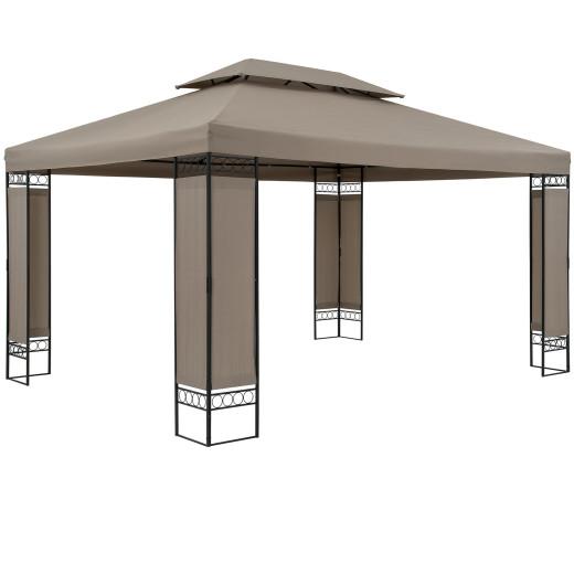 Pavillon Elda Braun XXL 3x4m