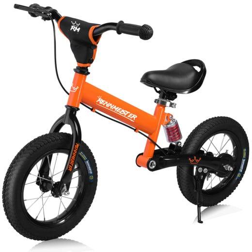"Balance Bike 12"" with Suspension Orange"