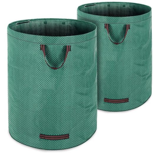 2x Garden Bag 280 Litres each max 50kg Capacity 3 Carrying Handles