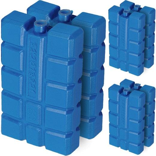 6er Set Kühlakkus - je 200ml - 15 x 8 x 4 cm