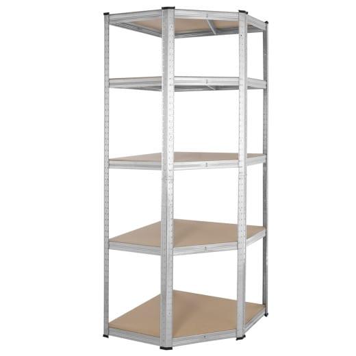 Heavy Duty Corner Shelf 6x2x1ft