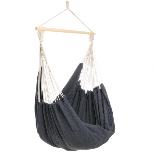 Hanging Chair 185 x 130 x 155 cm Grey