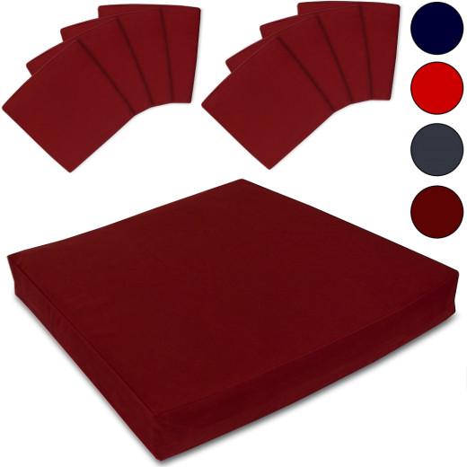 8 x Cushion Cover Pillow Linen Design