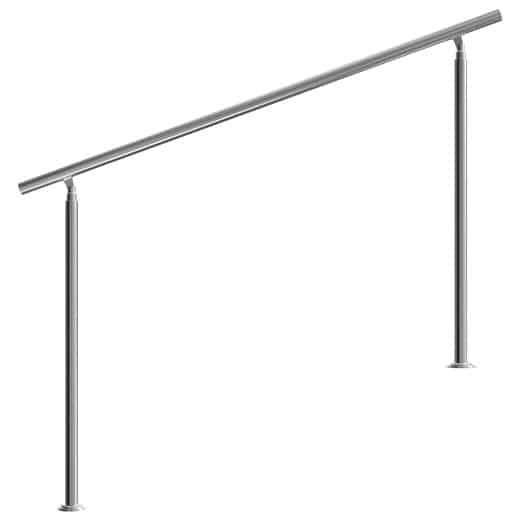 Treppengeländer Edelstahl 160cm