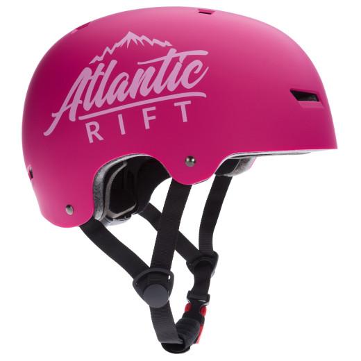 Atlantic Rift Adjustable Kids Bike Skateboard Helmet berry S