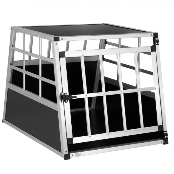 Dog Car Crate Alumnium 27.6x21.3x20.1in
