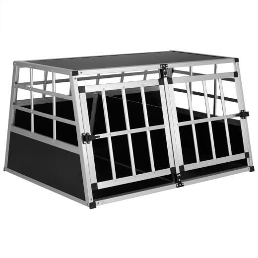 Dog Car Crate Aluminium 38.6x27.6x20.1in