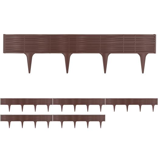 Lawn Edge Bed Frame Set 11.7m Brown