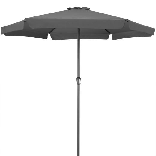 Sonnenschirm Anthrazit Ø330cm UV-Schutz 50+