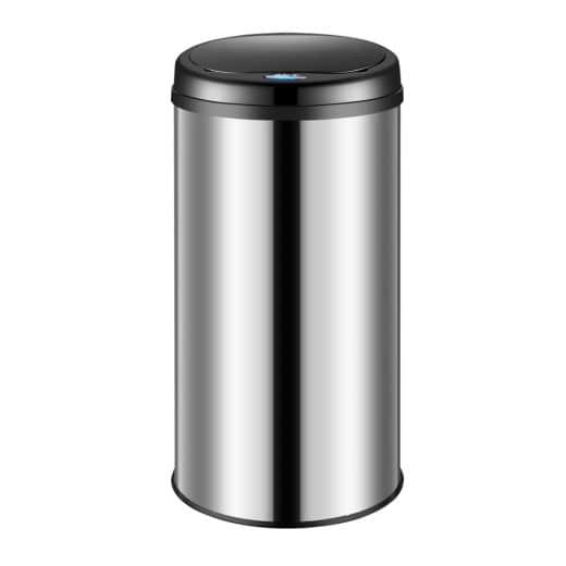 Sensormülleimer 56 Liter schwarz