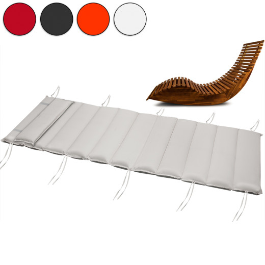 Flexible Sun Lounger Cushion 7cm Thick Padding