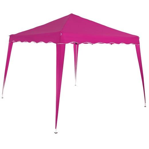 Faltpavillon Capri - Popup 3x3m pink