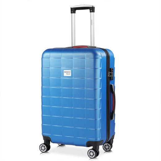 Hard Shell Suitcase Exopack Blue 80L