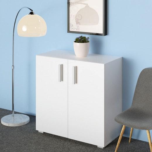 Multi-Purpose Cupboard Bookcase White
