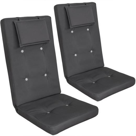 2 x chair cushions Vanamo - Anthracite