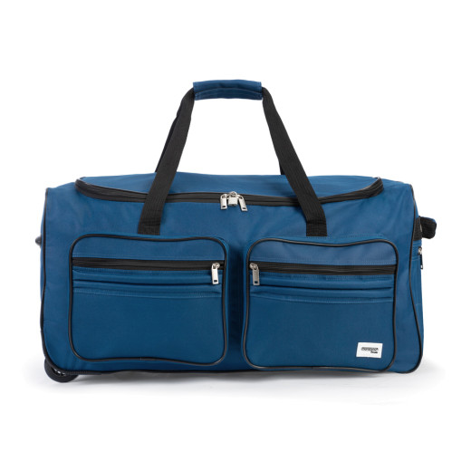 Travel Duffel Bag - 100L - Blue - wheeled Holdall