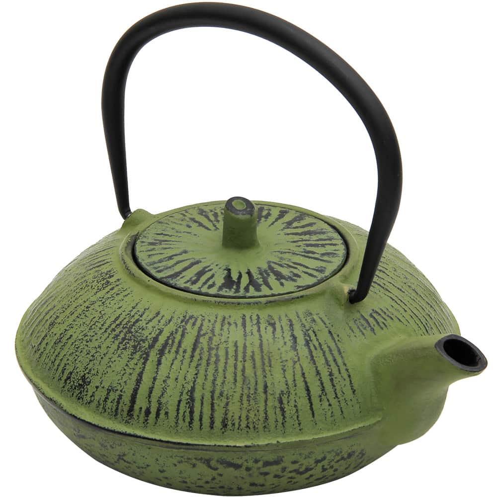 Teapot Cast Iron 1.1L Green