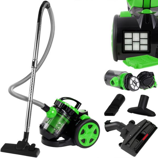 Vacuum Cleaner - max. 900 Watts - ECO - Green Multi Cyclone Edition