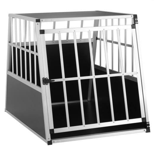 Dog Car Crate Alumnium 35.4x26x28.3in