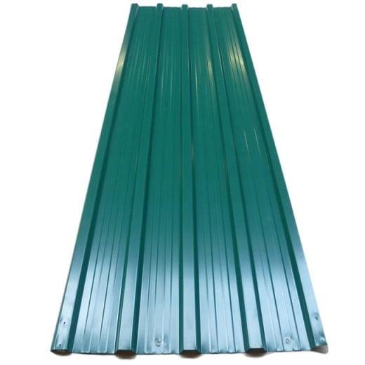 Corrugated Roof Sheets 12Pcs Green 7m²