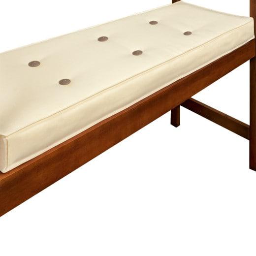 Cushion for 2Seater bench 110x45cm Beige Cream
