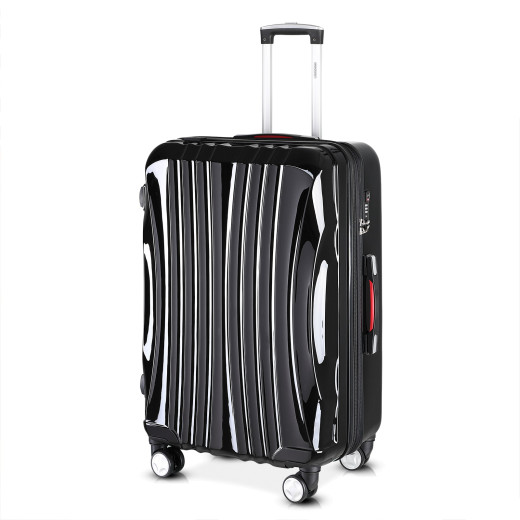 Hard Shell Suitcase Ikarus Black 105L-154L