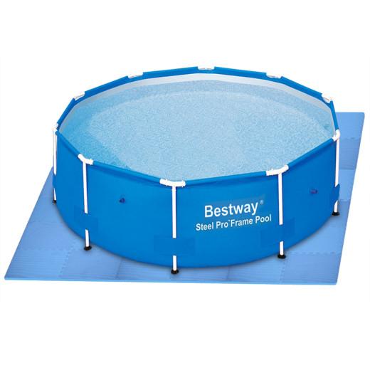 8 pcs Pool Set Floor Protection Tile Mats - 8 pieces / 180x90cm = 1.62 m²