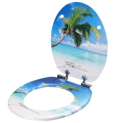 Soft Close Toilet Seat Palm Design