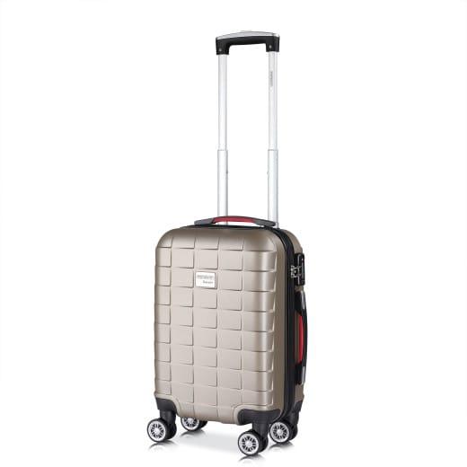 Monzana Suitcase Exopack M Champagne