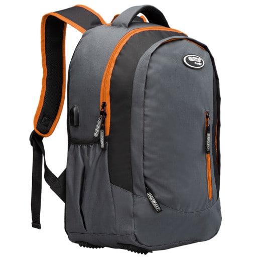 Sports Backpack 35L Grey Orange