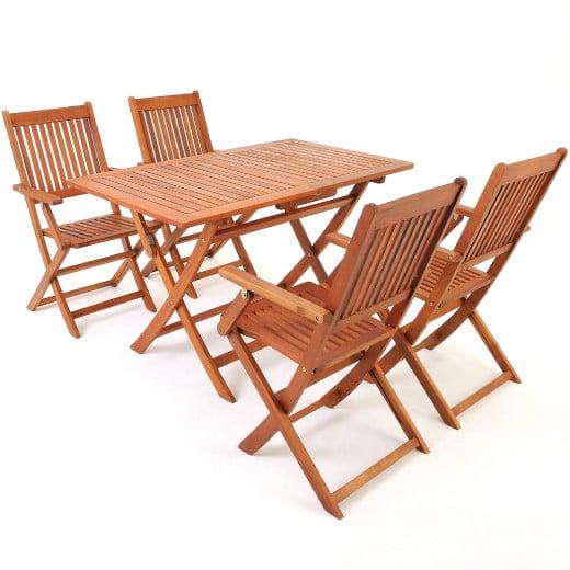 Garden Dining Set Sydney 5Pcs Acacia Wood FSC®-certified