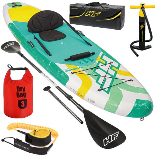 SPORTANA SUP Kayak Set 340x89x15cm up to 160kg 3L Dry Bag