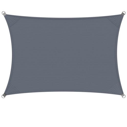 DETEX® Sun Sail Oxford Rectangular 2x4m Anthracite